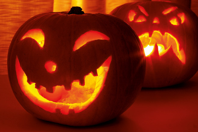 Фото №2 - Как сделать жуткую тыкву для Хеллоуина