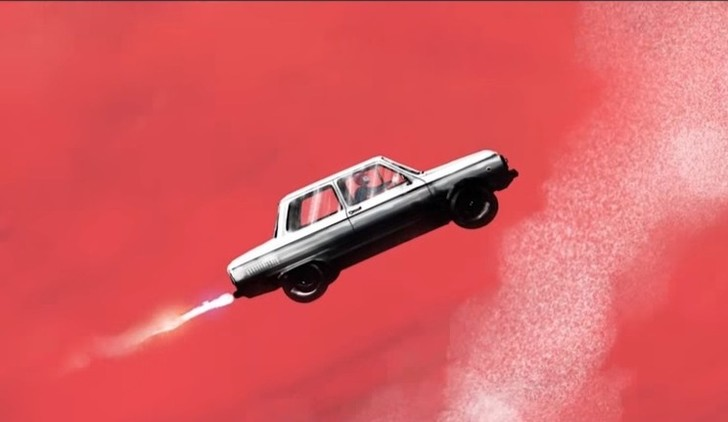 Фото №1 - Новый клип Монеточки «Запорожец»! Про запуск пилотируемого автомобиля в космос и любовь