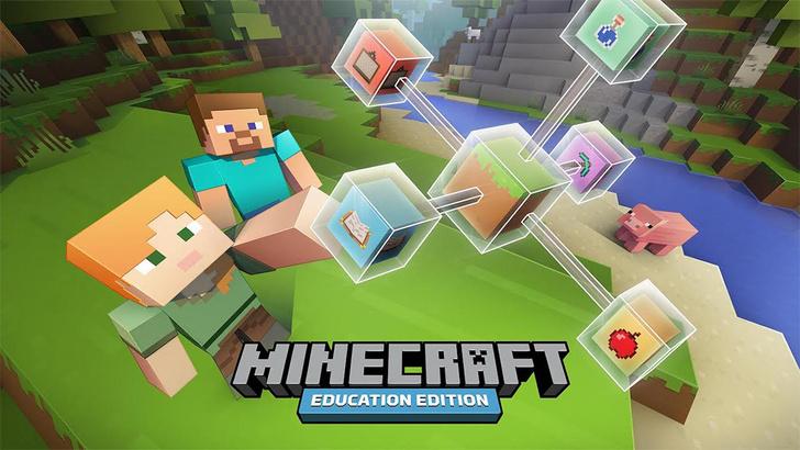 Фото №1 - Дети смогут обучаться при помощи Minecraft
