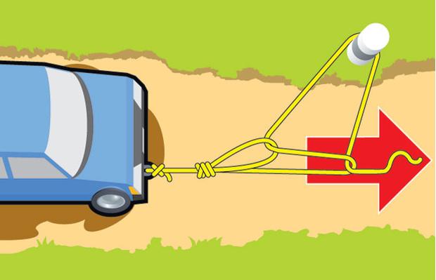 Фото №7 - Как вытащить буксующую машину