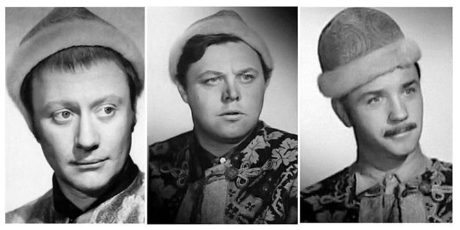 Кандидаты на роль вора Милославского