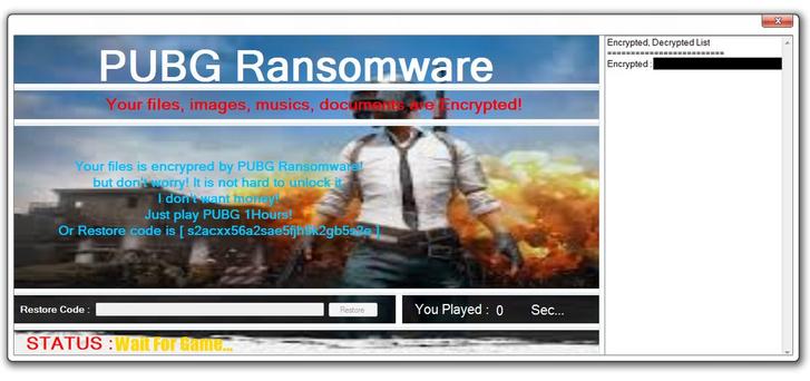Фото №1 - Компьютерный вирус принуждает пользователей играть в PlayerUnknown's Battlegrounds