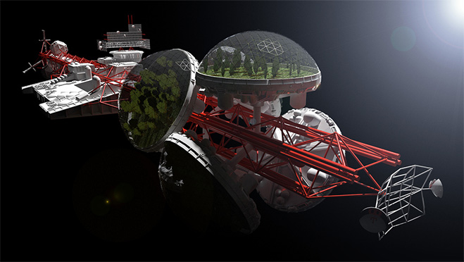 Фото №1 - 15 самых причудливых космических кораблей в кино