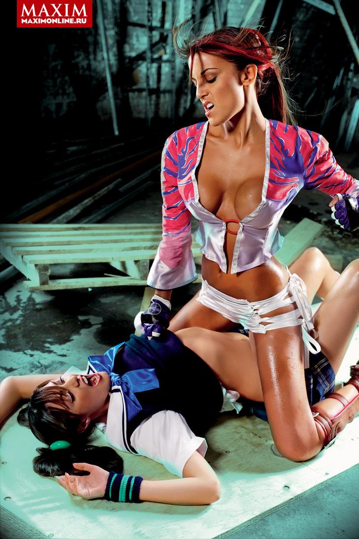Фото №5 - Девушки из игры Tekken — добро должно быть с кулачками