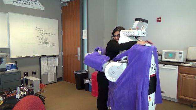 Фото №1 - Робот дня: гигантская машина для обнимашек (ВИДЕО)