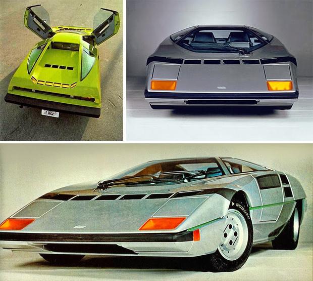 Фото №12 - Как представляли в прошлом автомобили будущего