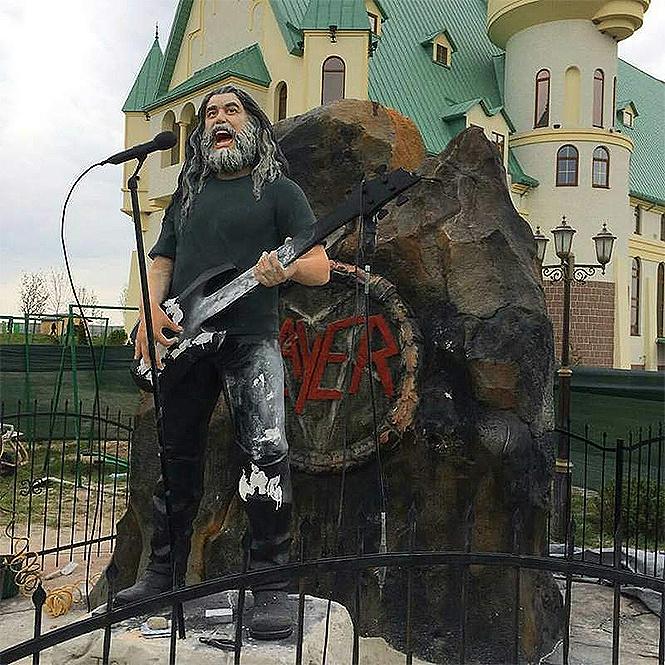 Slayer в украинском зоопарке