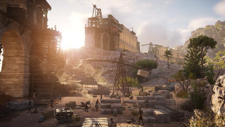 Фото №2 - Экскурсия в Древний Египет: как из игры Assassin's Creed Origins делают виртуальный музей