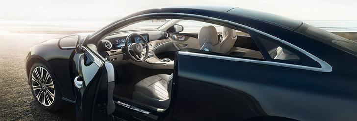 Фото №3 - Чтобы управлять купе Е-класса, нужно сначала отключить автопилот