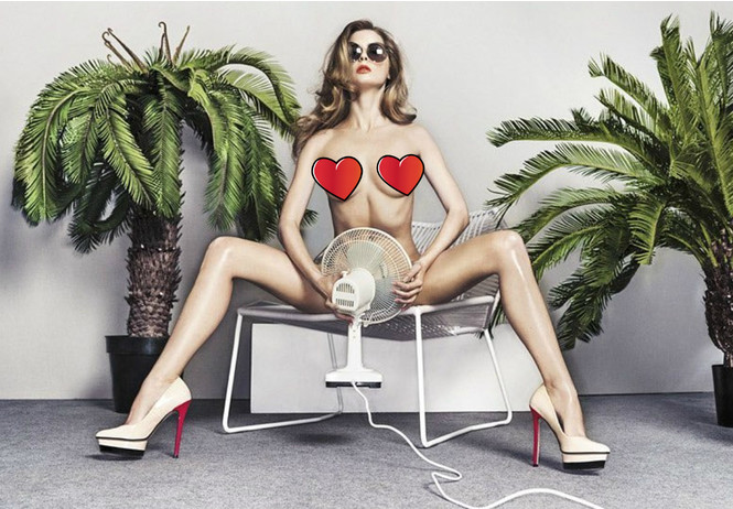 самые странные эротические фотографии когда-либо