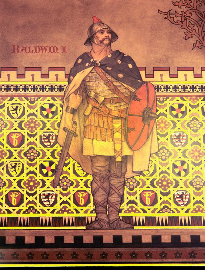 Балдуин I Фландрский, первый император Латинской империи, XIII век