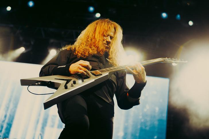 Фото №9 - Megadeth подняли температуру в Москве — посмотри и приобщись!