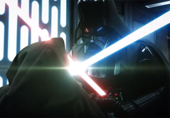 Фото №1 - Фанатcкая короткометражка о битве Оби-Вана и Дарта Вейдера оказалась лучше новых «Звездных войн»
