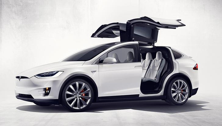 Фото №3 - Tesla показала свой новый кроссовер Tesla Model X