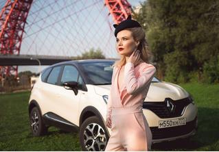 Как связаны первая девушка-барбер Москвы и Renault Kaptur Extreme