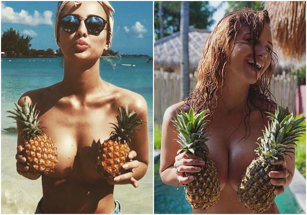 Фото №1 - Самый жаркий тренд летнего сезона — лифчик-ананас!