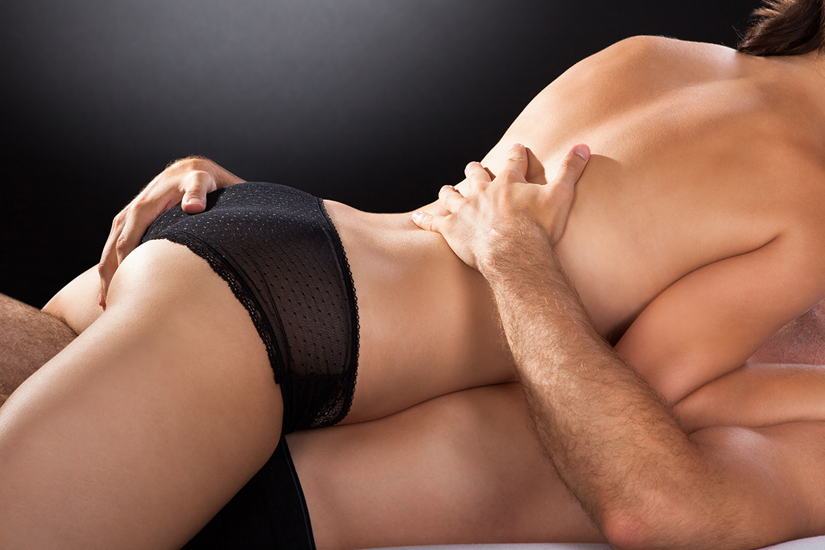 Sexual techniques for married couples, two men one girl