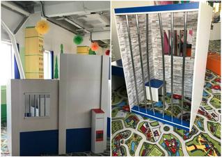 В детском развлекательном центре в Абакане появилась тюремная камера