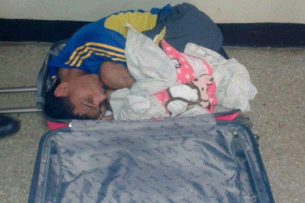 Фото №2 - Женщина пыталась выкрасть мужа из тюрьмы в чемодане!