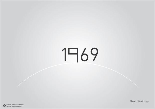 Фото №23 - Исторические даты в минималистичных иллюстрациях