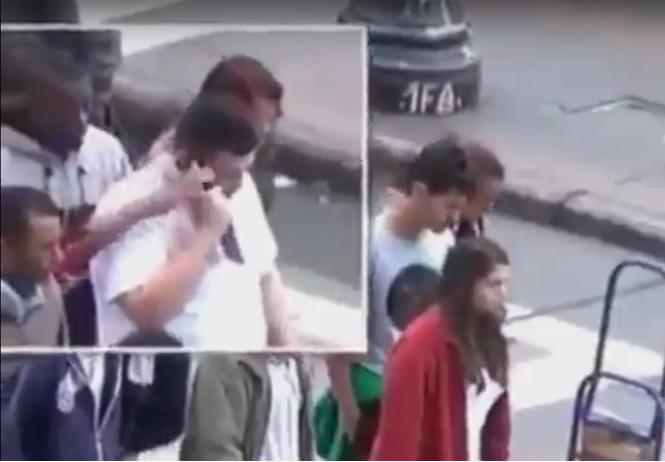 отнимают телефоны прохожих сан-паулу видео