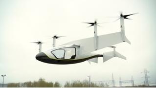 На британском авиашоу Rolls-Royce показал летающее такси (ВИДЕО)