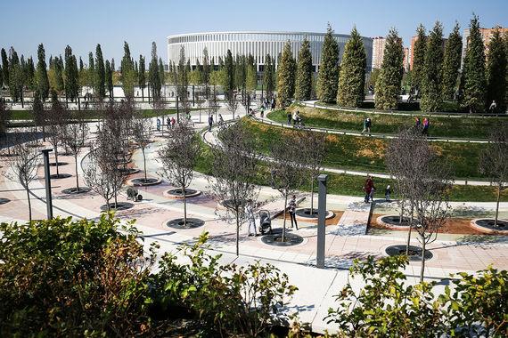 Фото №4 - Бизнесмен Сергей Галицкий подарил краснодарцам парк мечты