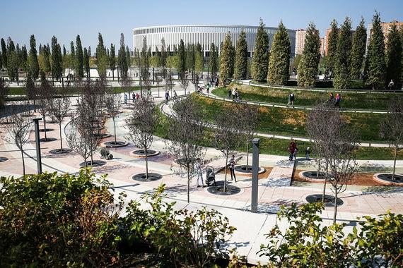 Бизнесмен Сергей Галицкий подарил краснодарцам парк мечты