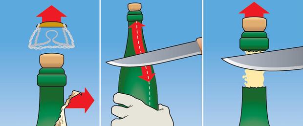 Фото №2 - Как открыть шампанское по-гусарски