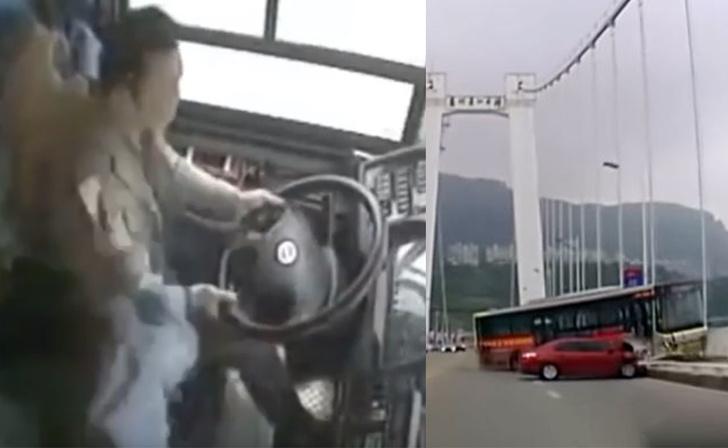 Фото №1 - Неадекватная пассажирка автобуса спровоцировала аварию, в которой погибли 13 человек (видео)