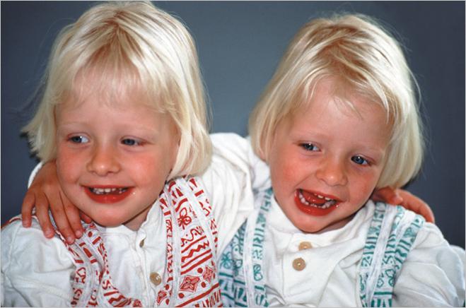 Непохожие близнецы