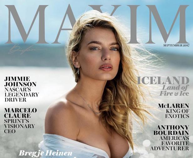 Фото №1 - Полюбуйся на фотографии красавицы с обложки сентябрьского номера американского MAXIM