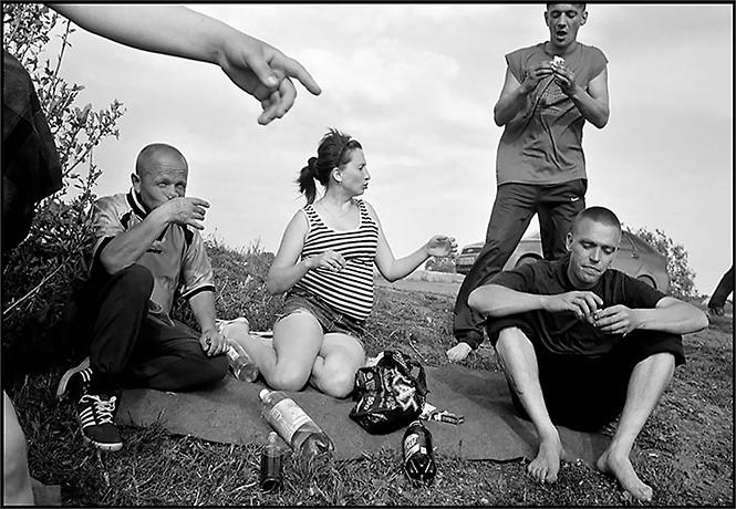 Фото №1 - Русская деревенская братва глазами американца (30 фотографий)