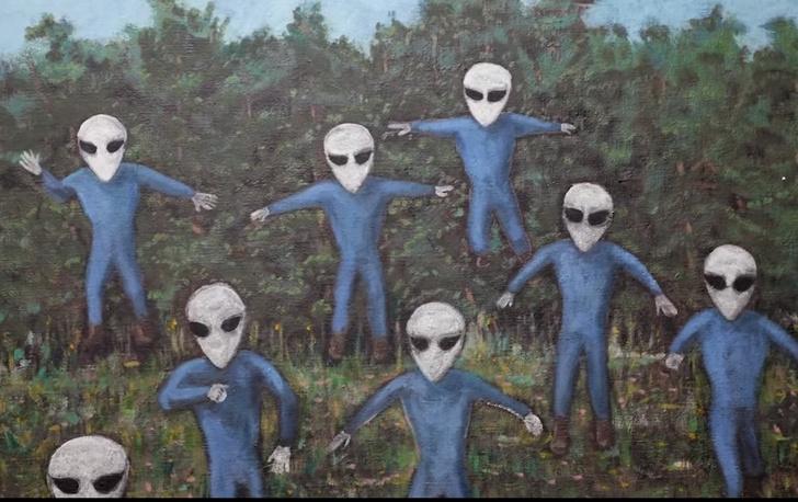 Фото №6 - Художник рассказал, как инопланетянка лишила его девственности, — и теперь он пишет картины о пришельцах