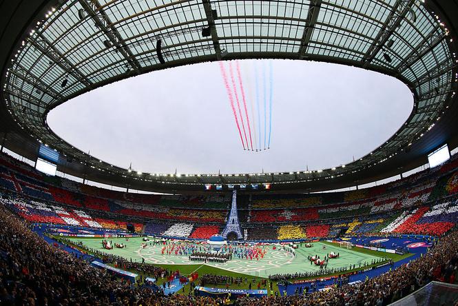 Стад де Франс, на котором пройдет финал