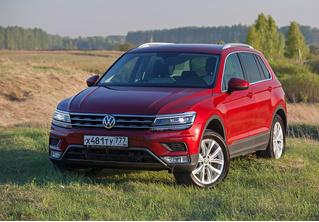 Съездить на дачу или установить мировой рекорд? Отвечает Volkswagen Tiguan