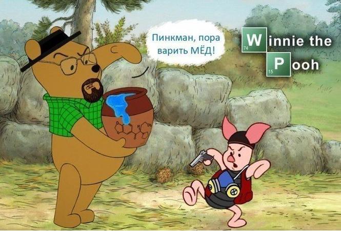 Детские анекдоты про Винни-Пуха, которые стыдно не знать