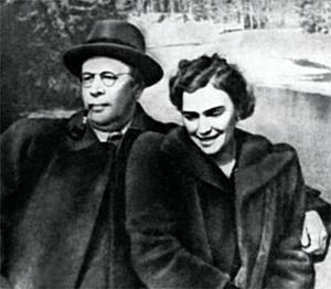 Алексей Толстой и Людмила Баршева