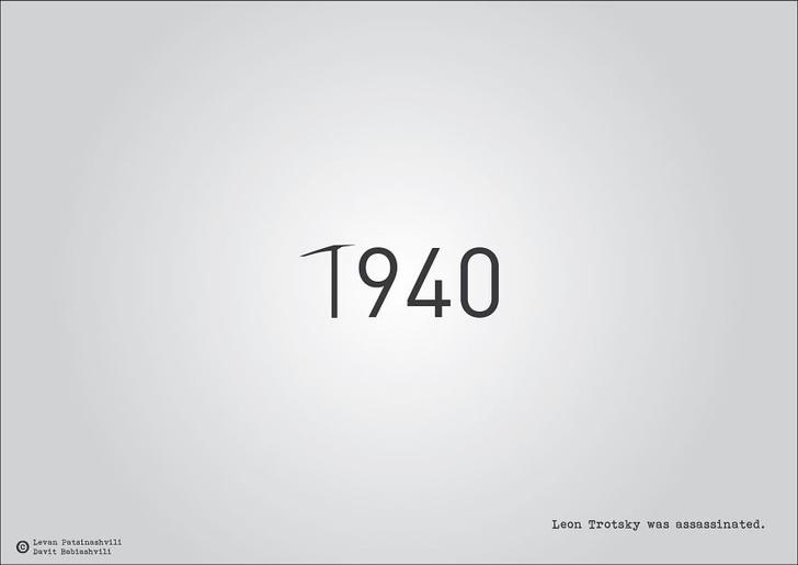 Фото №29 - Исторические даты в минималистичных иллюстрациях