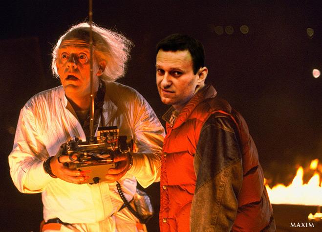 Навальный вернется в прошлое и совершит еще несколько преступлений