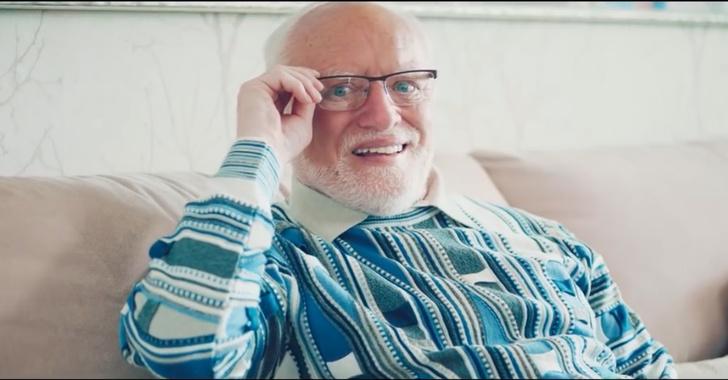 Фото №1 - Гарольд Cкрывающий Боль снялся в немецкой рекламе (видео)