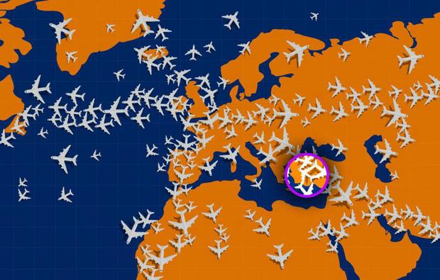 Фото №3 - Тест на зоркость: найди самолет, который летит не в ту сторону