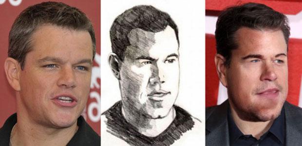 Фото №9 - Как бы выглядели знаменитости, если бы были похожи на портреты, нарисованные фанатами!
