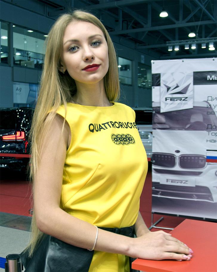 Фото №12 - Лучшие девушки Московского международного автосалона — 2016