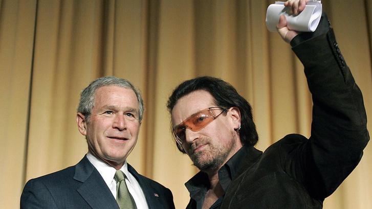 Фото №6 - 6 самых неловких встреч президентов с рок-музыкантами
