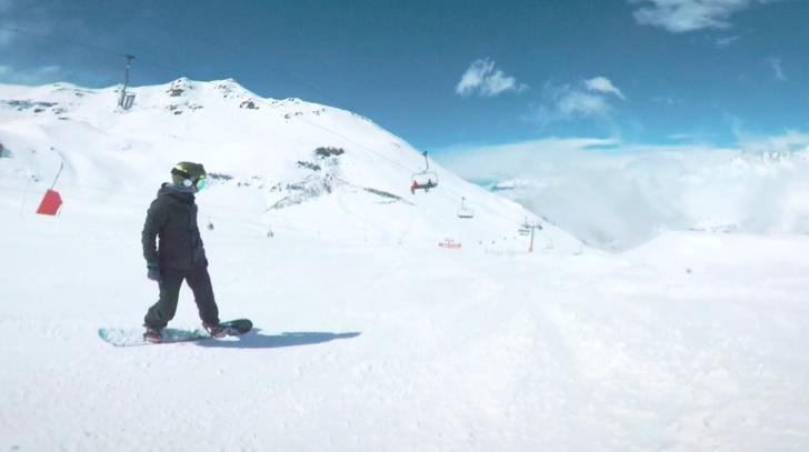 Фото №1 - Красивое сноубордическое ВИДЕО с невероятными сменами планов