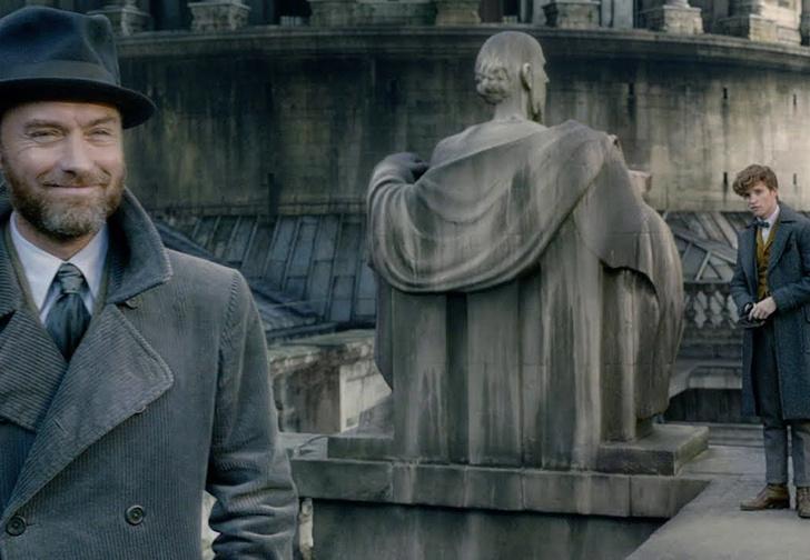 Фото №1 - Джуд Лоу против Джонни Деппа! Первый трейлер фильма «Фантастические твари: Преступления Грин-де-Вальда». На русском!