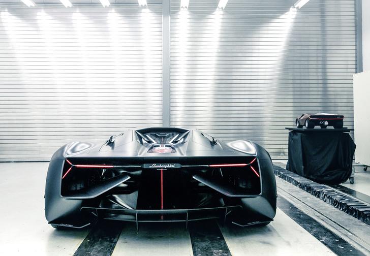 Фото №4 - Самый агрессивный концепт-кар от Lamborghini