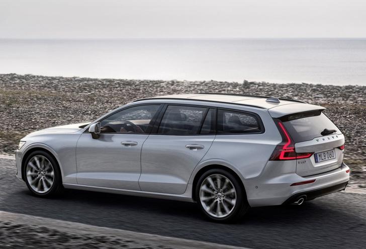 Фото №4 - Универсалы живы! Представлен новый Volvo V60