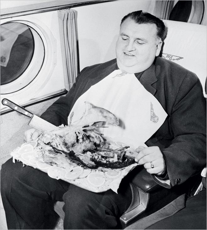 Откуда берется самолетная еда
